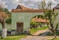 Rural village in Transylvania, Romania. Stock Images