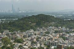 Rural village in Yuen Long in Hong Kong Royalty Free Stock Image