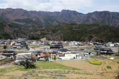 Rural villages in Japan. Stock Photos