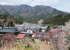 Rural villages in Japan. Royalty Free Stock Photo