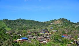 Rural villages. At mae wang chiangmai thailand Stock Images