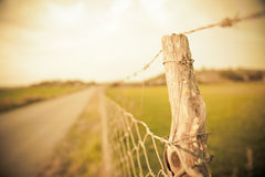 Rural vintage landscape Stock Photo