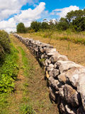 Rural wall in Galicia royalty free stock image
