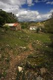 Rural Way. In a mountain in Spain royalty free stock photos