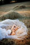 Rural wedding royalty free stock photography