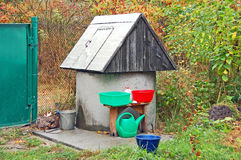 Rural well Stock Photo