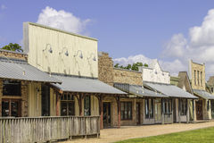 Rural Western Style Shops Royalty Free Stock Image