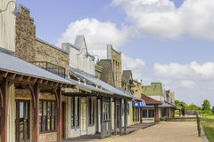 Rural Western Style Shops 2 Stock Photography