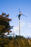 Rural Wind Power Stock Image