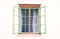 Rural window Royalty Free Stock Photos
