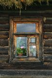 Rural window Royalty Free Stock Images