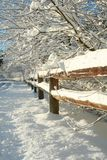 Rural Winter Landscape. Stock Images