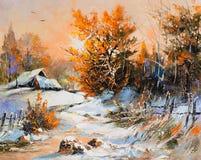Free Rural Winter Landscape Stock Image - 18549001