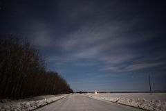 Rural winter landscape Royalty Free Stock Photos
