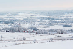 Rural winter landscapes Stock Photo
