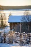 Rural winter Stock Photos