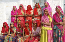 Rural women Stock Image