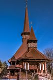 A Rural Wood Church Royalty Free Stock Photography