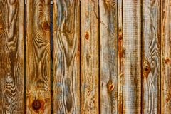 Rural wooden fence with high contrast texture. Of wood surface royalty free stock image