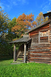 Rural wooden house Royalty Free Stock Photo