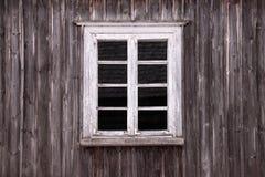 Rural Wooden Window Stock Photo