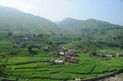 Rurale e villaggio Immagini Stock