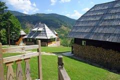 Rurale tradizionale serbo fotografia stock