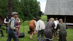 Rurali artistici eseguono archivi video