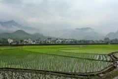 ruralità dell'caratterizzato di da huizhou Immagini Stock