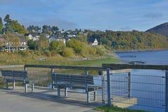 Rurberg, Eifel, le Rhin du nord Westphalie, Allemagne images libres de droits