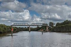 Rurociąg most nad Parramatta rzeką, Kameliowy Australia Zdjęcie Royalty Free