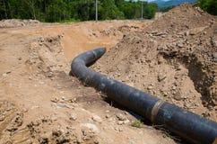 rurociąg naftowy zdjęcie royalty free