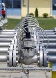 Rurociąg wyposażenie Fotografia Stock