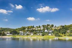 Rursee wioska Rurberg, Niemcy Obraz Royalty Free