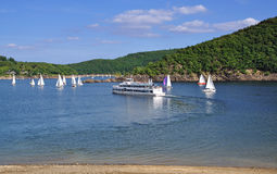 Rurstausee,Rur Reservoir,Eifel,Germany Stock Image