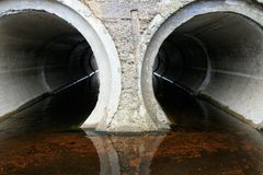 rury betonu, Fotografia Royalty Free