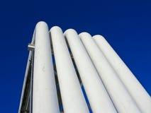 rury przemysłowe Zdjęcie Stock