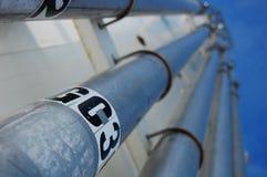 rury przemysłowe Zdjęcie Royalty Free