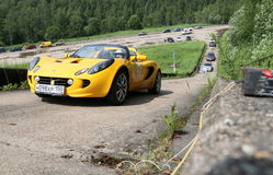 Rus Hill climb Open Royalty Free Stock Images