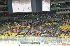 RUS vs. SWE Ice Hockey World Championship stock photo