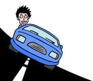 Rusa bilen Fotografering för Bildbyråer