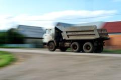 Rusa den ryssKamaz lastbilen Arkivbilder