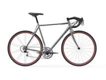 Rusa den tävlings- cykeln som isoleras på vitbakgrund stock illustrationer