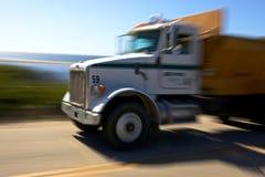 rusa lastbil för huvudväg Fotografering för Bildbyråer
