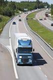 rusa lastbil för motorväg Royaltyfri Foto