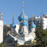 rusa ortodoxa iglesia Стоковое Фото