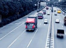 Rusa trafik Royaltyfri Bild