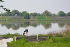 Rusandameer in Servië stock foto
