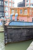 Rusar in Gloucester skeppsdockor royaltyfri foto