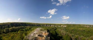 Rusenski Lom Nature Park Arkivbild